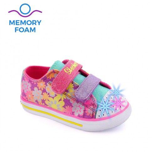 Tenisi fete Twinkle Toes Purple - Skechers