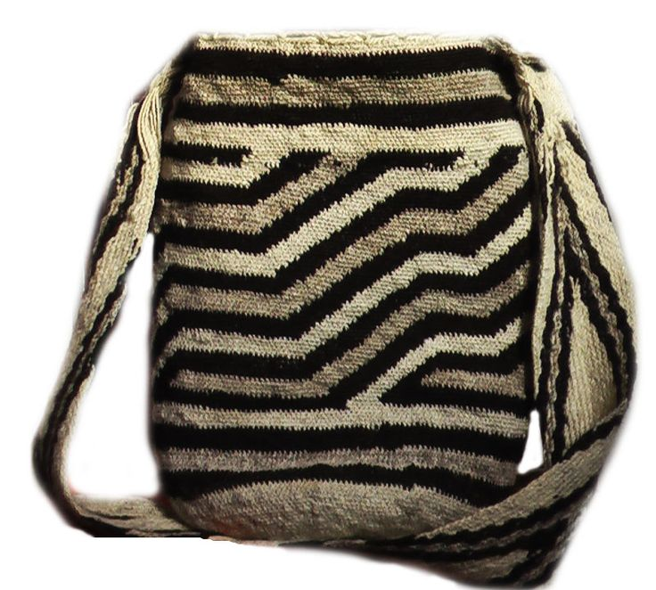 mochila arhuaca from Colombia  made from sheep's wool and  very expensive