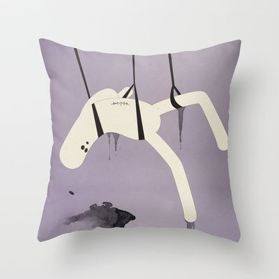 a p e s o Throw Pillow by Marco Puccini - $20.00