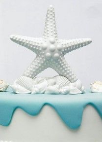 Starfish Topper | Available through Piece O' Cake