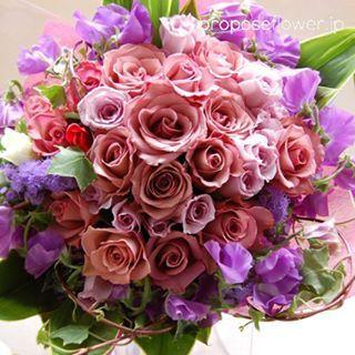 #幸せな花束達の記録♪ #happybouquets :) #flower #flowers #flowerlovers #bouquet #hanataba#blumen #fleur #rose #roses#pinkrose