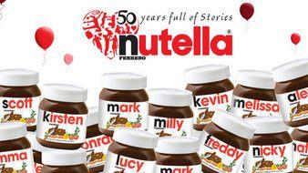 Nutella labels digital versus offset printing