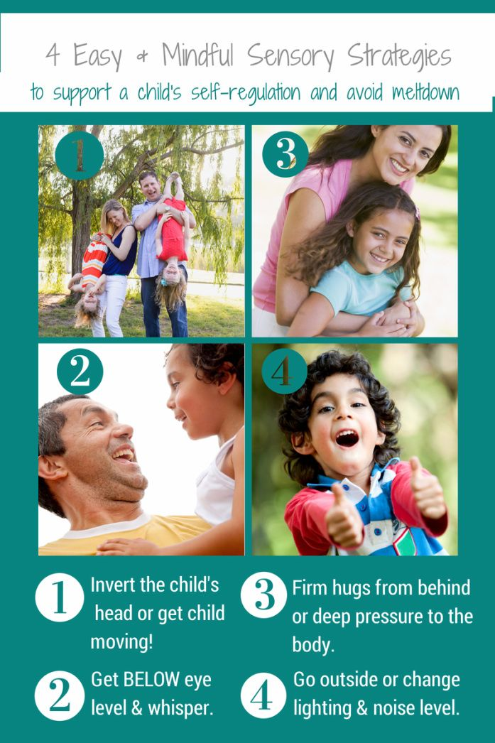 Four quick strategies for helping kids to calm down