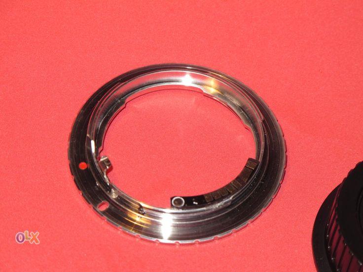 Adaptador de objectivas lentes nikon para corpos canon eos confirmação de foco