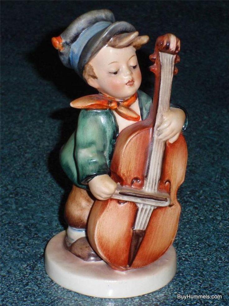 Sweet Music Goebel Hummel Figurine #186 TMK1 Incised Crown GREAT CHRISTMAS GIFT!