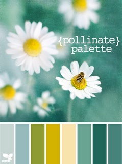 pollinate palette - love these colors right now, thanks holly design seeds