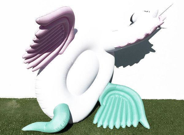 C H A R L I E One-of-a-kind luxury giant unicorn pool float Our candy coloured unicorn float is the ultimate mermaid inflatable accessory! Limited edition design by FETCH floats.