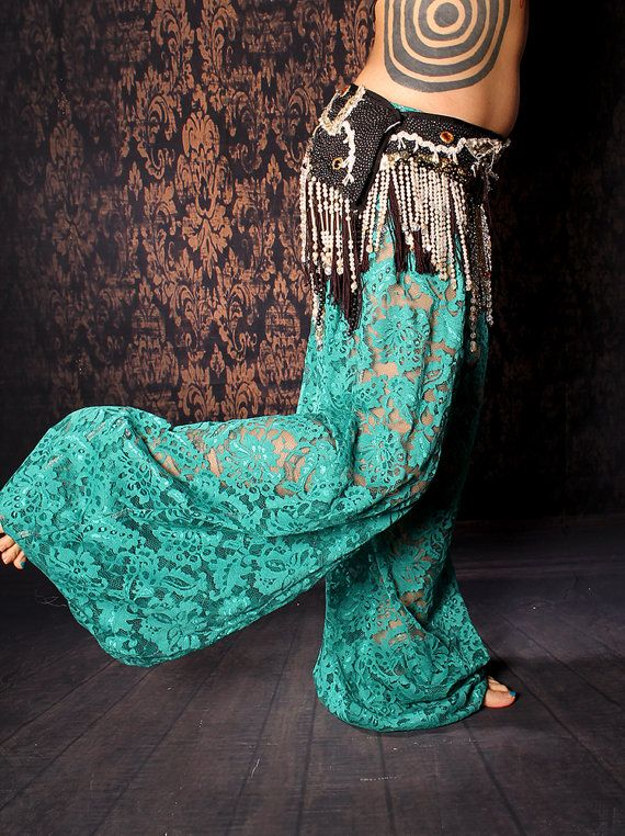 Tribale danza del ventre Harem Pants pantaloni di CrudeThings