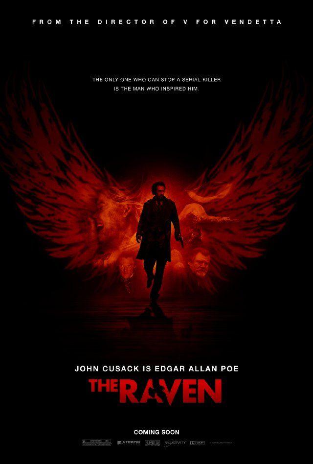 John Cusack as Edgar Allen Poe. Can't wait!