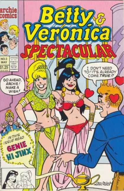 Betty and Veronica have also been featured in the various other titles published by Archie Comics, and have each had their own title, usually for brief runs. Description from a1comix.com. I searched for this on bing.com/images
