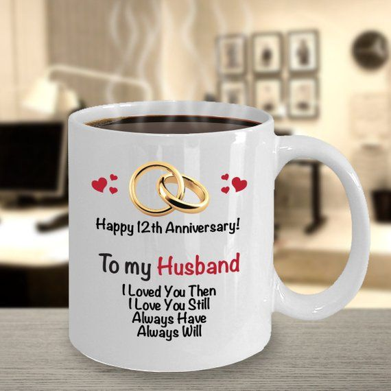 12th Anniversary Gift Ideas For Husband 12th Wedding Anniversary