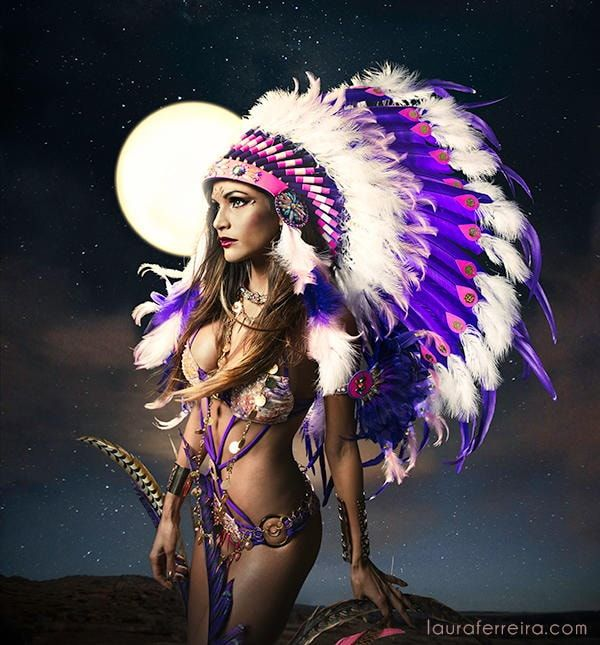 Cheyenne II - Anya Ayoung-Chee's TRIBE Carnival costume design for 2014 Trinidad Carnival.