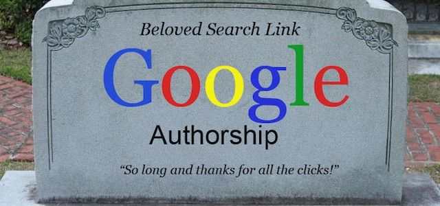Adeus Google Authorship