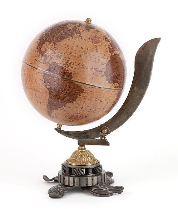 Le Commandeur Leather Desk Globe, Exotic World Globe, Industrial Art, Hand  Made… - Best 25+ Desk Globe Ideas On Pinterest Vintage Globe, Modern