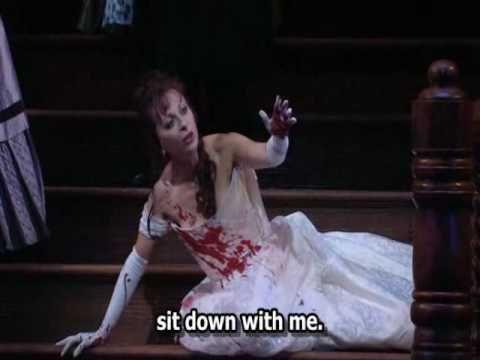 "▶ Gaetano Donizetti ""Lucia di Lammermoor"" - Mad scene - Part 1 - English Subs - Natalie Dessay - YouTube"