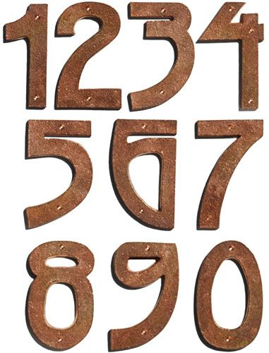 Arts Crafts House Numbers From 4 Clics In 2018 Pinterest And Home