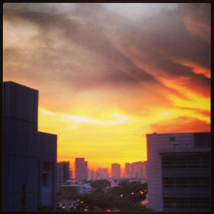 Sunset... #sky #sunset