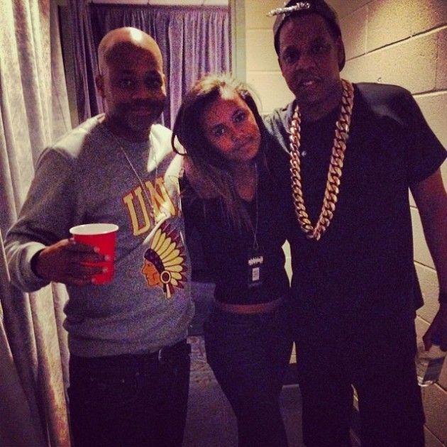 Dame Dash Attends Jay Z Concert