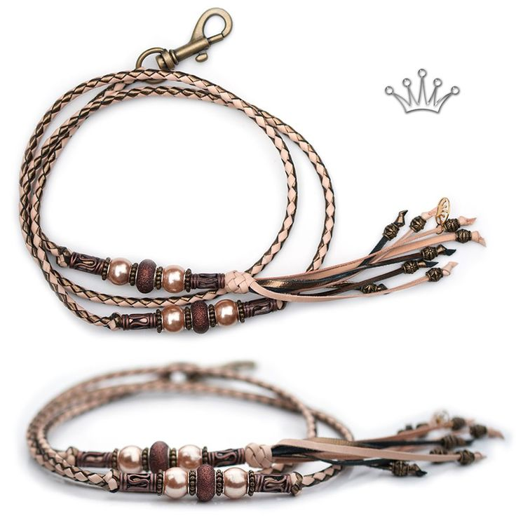 FOR SALE! Kangaroo leather show lead in natural & bronze. Interested? Visit the link for more information! * * * #showlead #showleads #showleash #dogshow #emoticon #emoticonleads #emoticonshowleads #kangarooleather #showdog #customlead #customshowlead #dogshows #utställningskoppel #kangarooleatherlead #dogshowlead