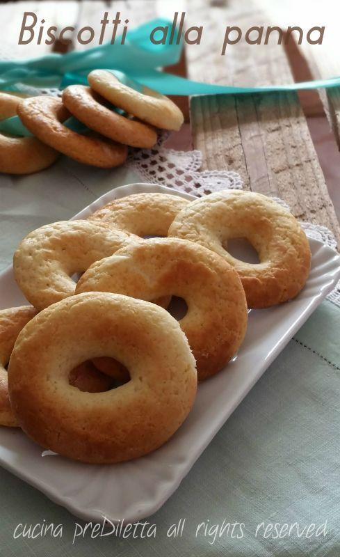 Biscotti alla panna, ricetta, cucina preDiletta