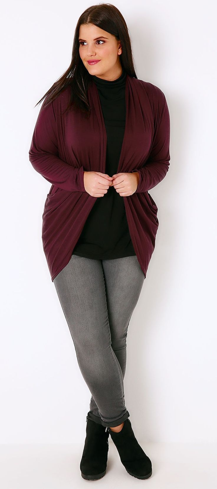 Best 25+ Burgundy cardigan ideas on Pinterest | Dress and cardigan ...
