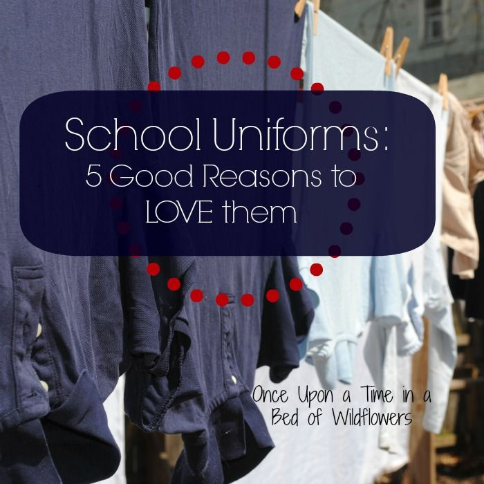 5 Good Reasons to LOVE School Uniforms #Pros-Of-School-Uniforms, #School-Uniform-Debate, #School-Uniforms #Sustainable-Living