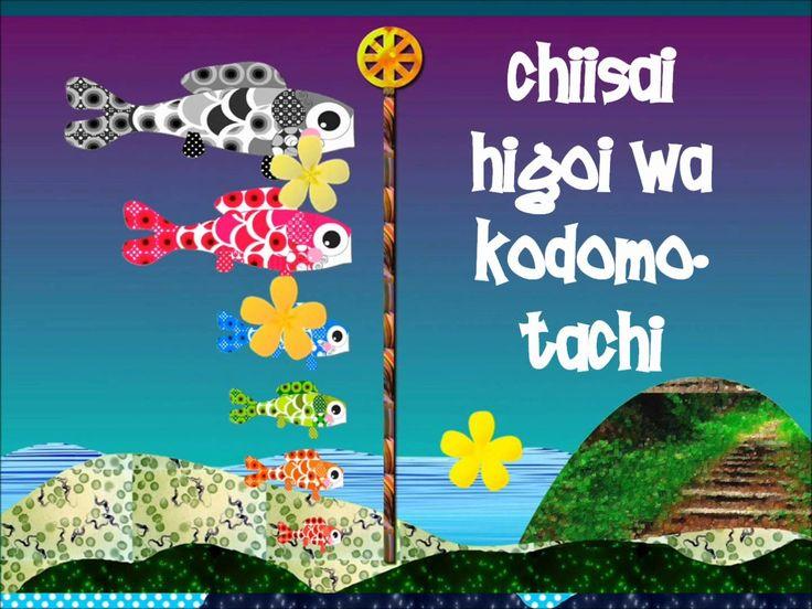 Fiesta japonesa del 5 de Mayo. Dedicada a los niños...especialmente a los míos…