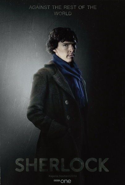 "007 Sherlock - BBC Detective Season 3 Hot TV Show 24""x36"" Poster"