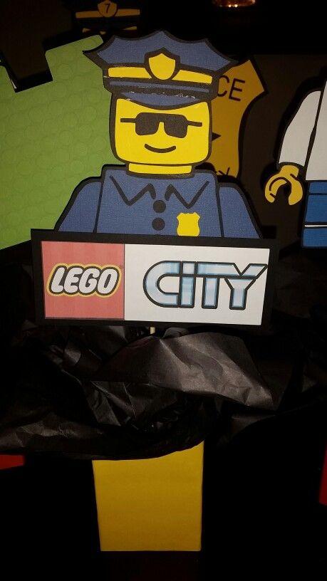 Lego City Police Birthday Party