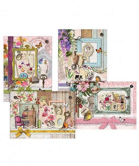 Daphne's Diary, Magazine and webshop, Daphne's Diary Ansichtkaarten Set van 2 x 4 - Daphne's Diary