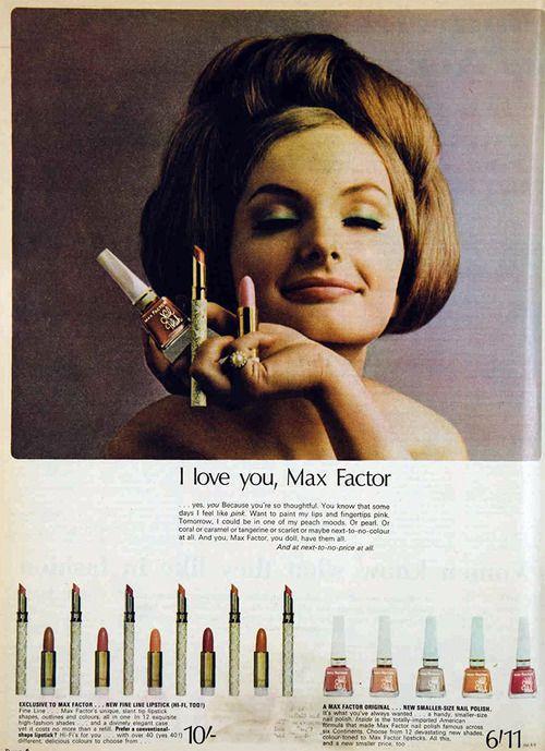 Max Factor 1965