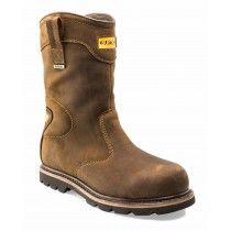 Buckler B701SMWP Safety Rigger Boots Dark Brown