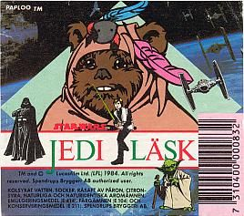 Jedi soft drink 1984. What does Jedi taste like?