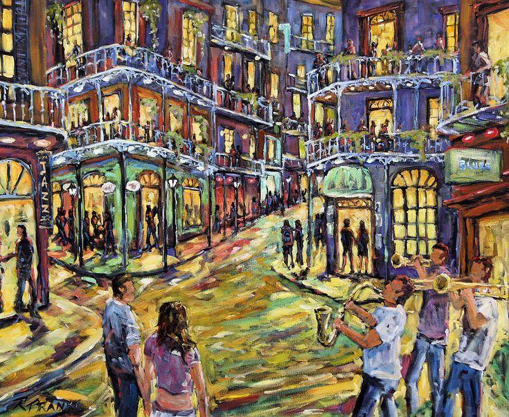 New Orleans Jazz Night By Prankearts Fine Art Sold