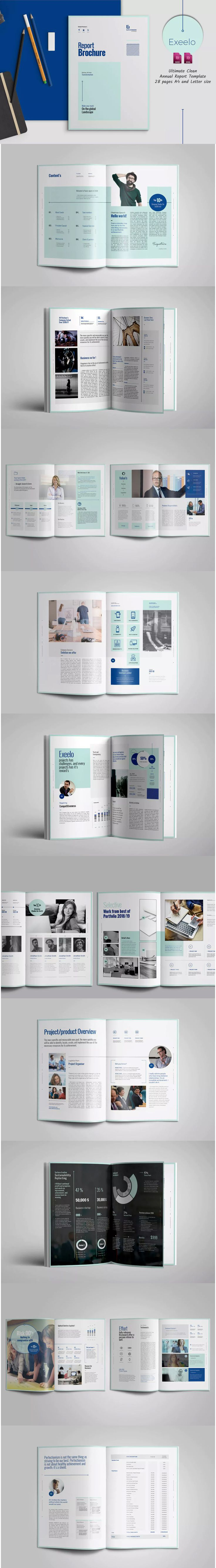 8 best Annual Report Templates images on Pinterest | Annual reports ...
