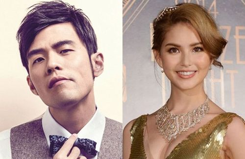 Jay Chou and Hannah Quinlivan reportedly took their wedding photos while traveling to Paris in October.