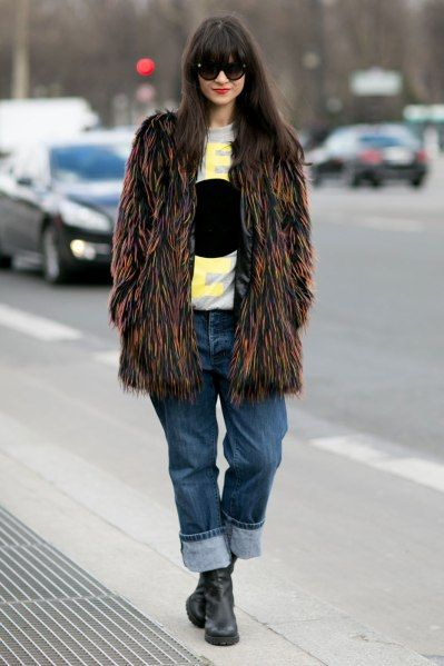 How to Wear Statement Fur: Your Street Style–Approved Guide