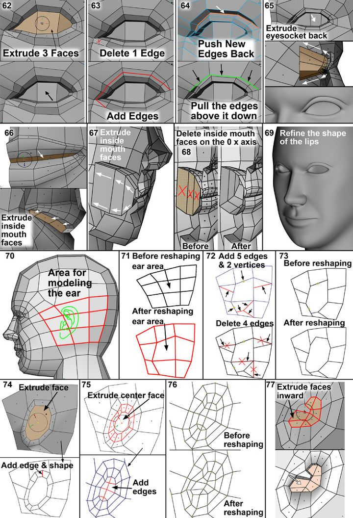 Over the years I've written many human modeling tutorials for my books 3-D Human Modeling and Animation, 1 st and 2 nd Editions, Mastering 3D Animation, 1 st and 2 nd Editions and various magazine articles as well as online tutorials. As a full-time Professor I?ve taught human modeling at James Madison University for over 13 years. The tools for modeling have improved tremendously. Since I use a..