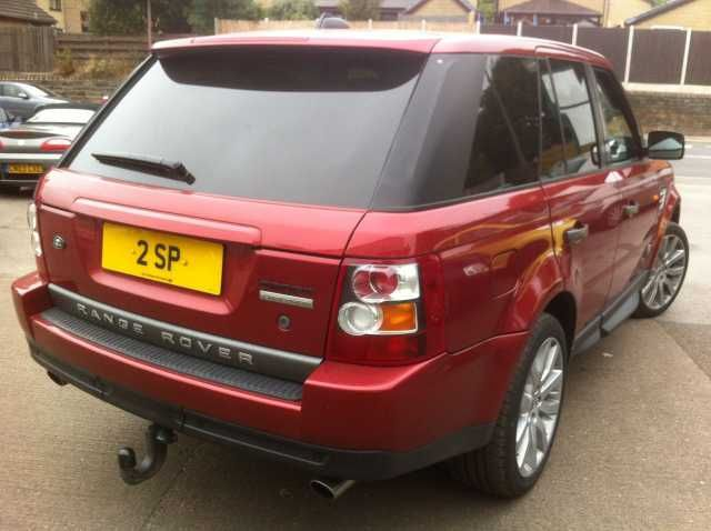 2005 Range Rover Sport 4.4 V8 Supercharged 5-door auto estate. Red. Full main dealer service history. Click on pic shown for loads more.