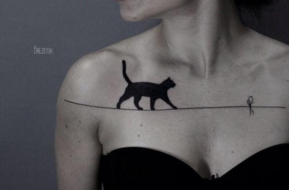 Cat on Tightrope by Ilya Brezinski