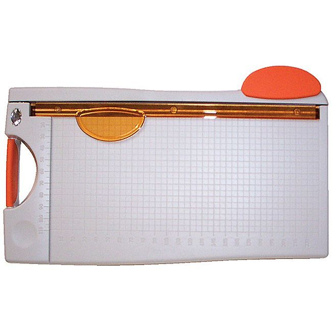 Tonic Studios Stainless-steel Blade Guillotine Paper Cutter with Measuring Grid