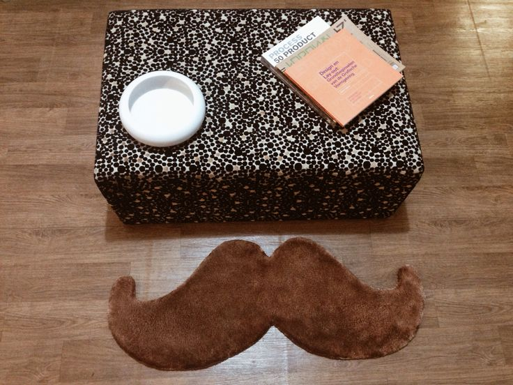 Mustache rug by MOHOI
