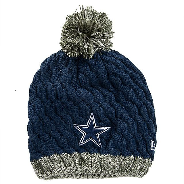Dallas Cowboys New Era Salute to Service Womens Knit Hat