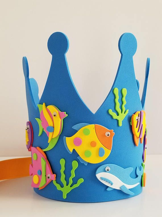Under The Sea Birthday Crown
