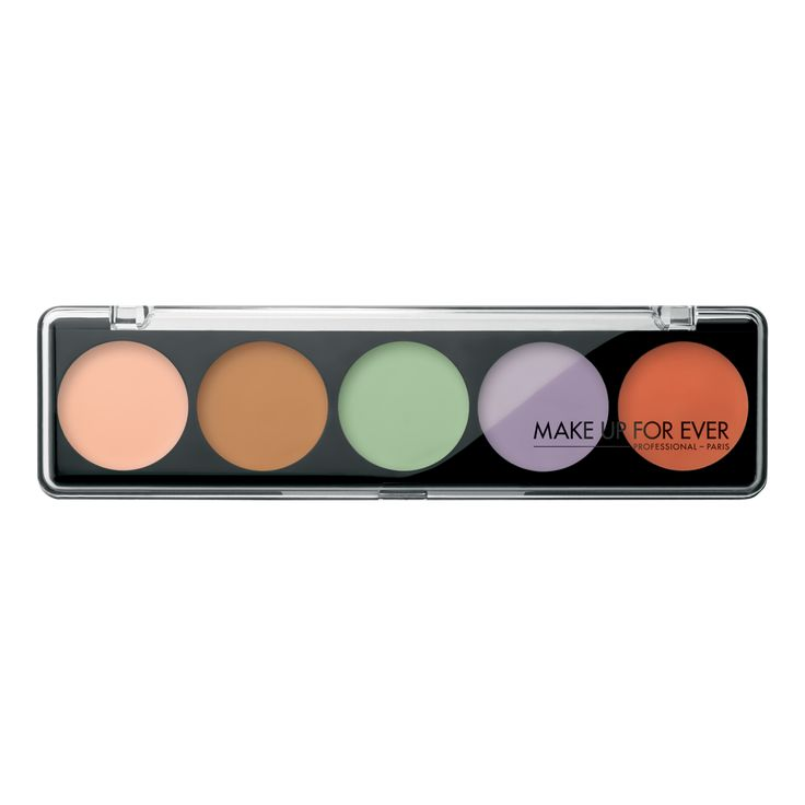 5 Camouflage Cream Palette - Professional Corrective Shades 12205 | Make up for ever
