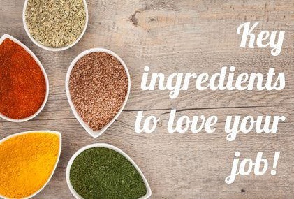 Key ingredients to love your job!    Everyone wants to love their job right?      What if I tell you there is an easy formula everyone can apply to find or create their dream job and career!     People who love their job have one specific thing in common, their job is fully aligned with what is important to them, whether it is the flexibility, money or purpose of the work they do. They are happy and fulfilled.   #career #careercoaching