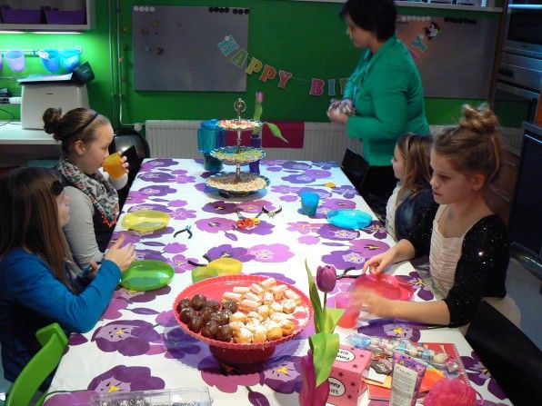 Site met ideeën voor kinderfeestjes