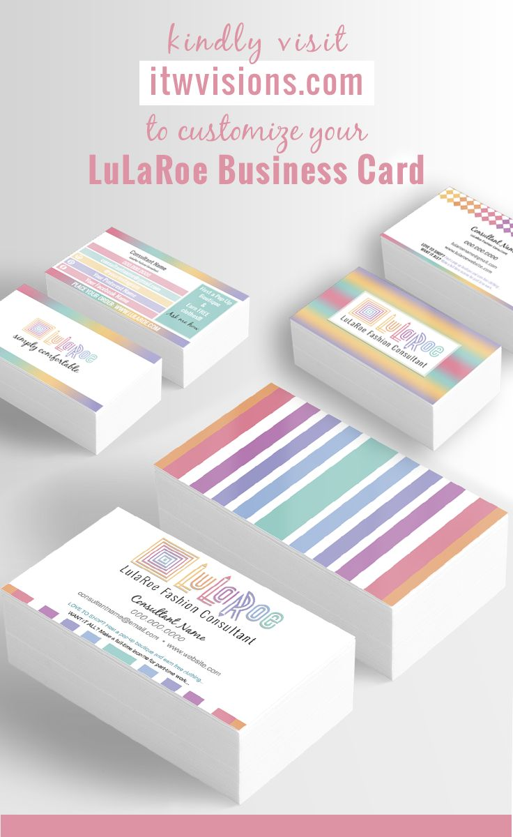 25 best ideas about lularoe business cards on pinterest for Lularoe business card template