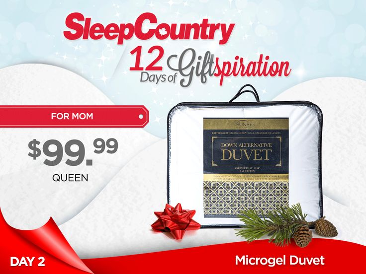 Day 2: Our Marvellous Microgel Duvet