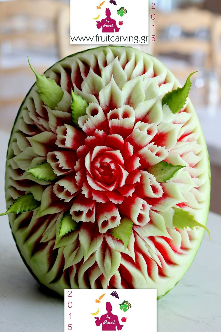 Water melon carving by Pavel Pavlidis